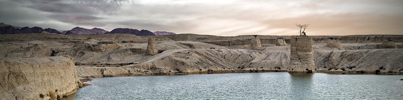 イスラエル 砂漠 水 イメージ