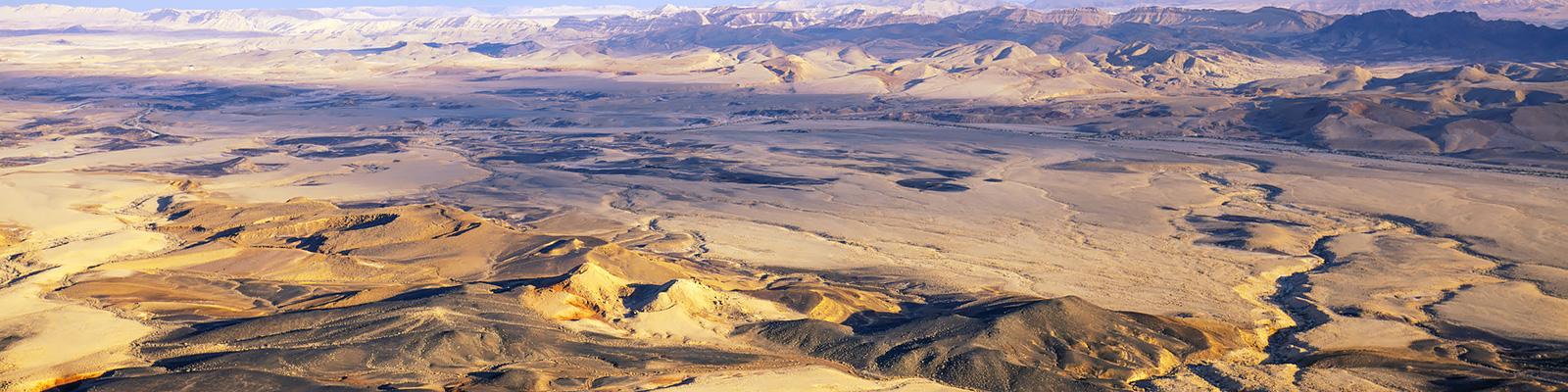 イスラエル ネゲブ砂漠 イメージ