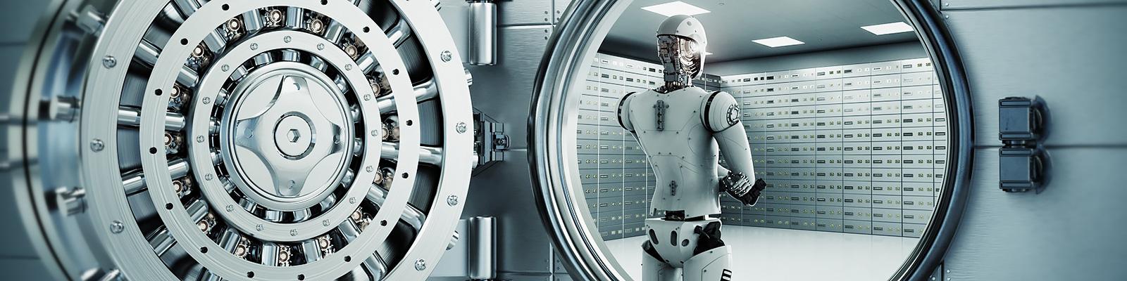 銀行 ロボット イメージ