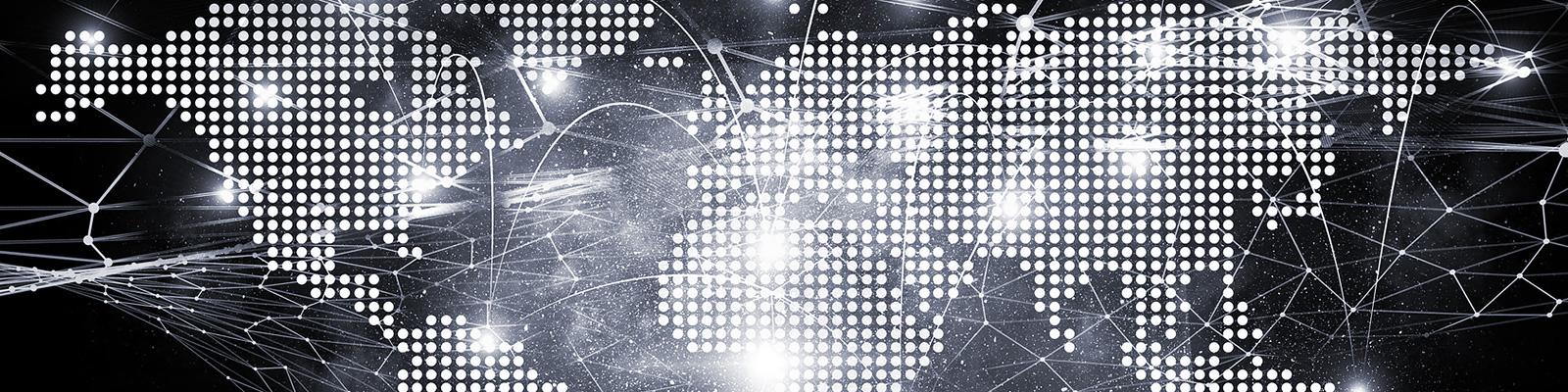 世界 ネットワーク ポイント イメージ
