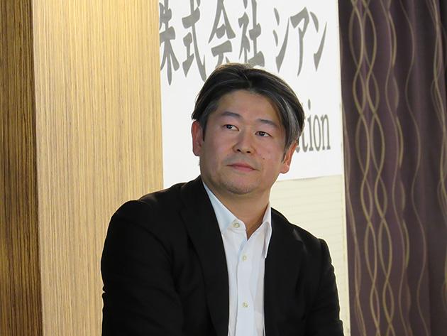 モデレーターを務めたFPV Roboticsの代表取締役社長 駒形政樹氏
