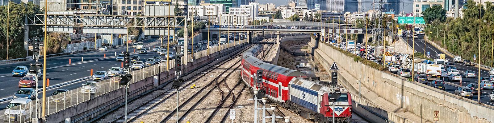イスラエル 鉄道 交通 イメージ