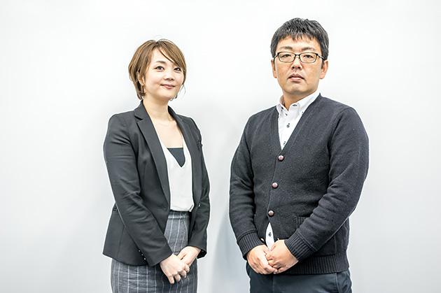 左:サンドバイン チャネルセールスマネージャー 小林 由佳理 /右:同 東アジア SEディレクター 宮村 元気
