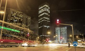 イスラエル 市街地 交通 イメージ