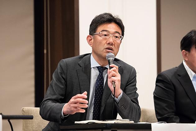 ユビキタス代表取締役社長の佐野 勝大氏