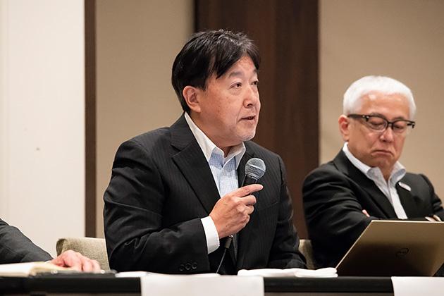 アイネット取締役副社長の田口 勉氏