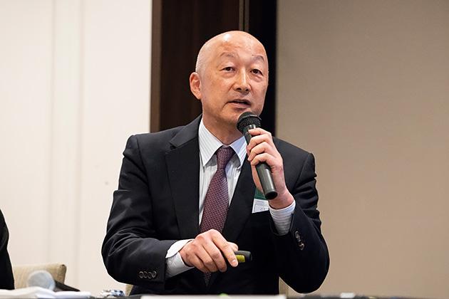 ラック取締役 常務執行役員の三木 俊明氏