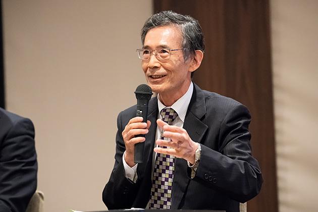 中央大学研究開発機構・機構教授、東北大学名誉教授の白鳥 則郎氏