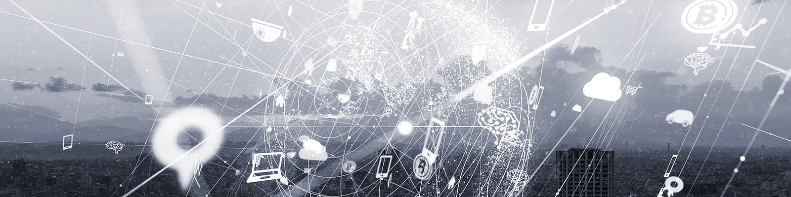 IoT クラウド ネットワーク イメージ