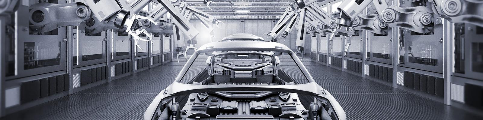 自動車 工場 システム イメージ