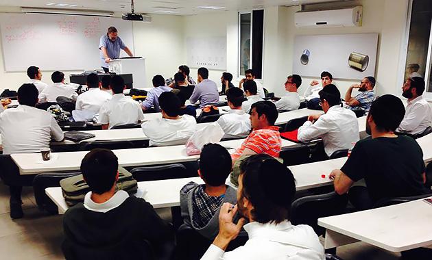 ヘブライ大学の授業風景