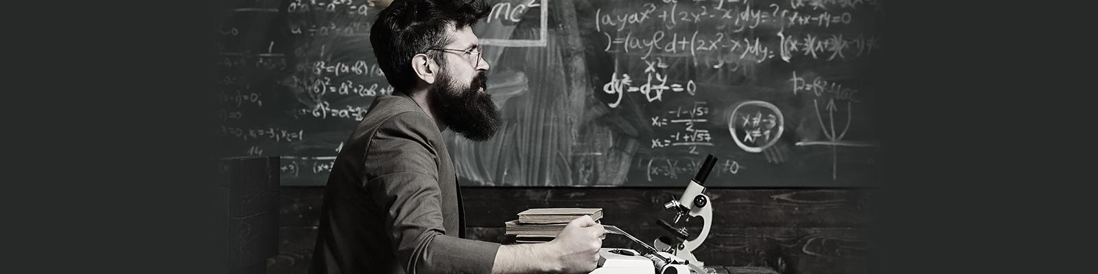 数学 学者 コミュニケーション イメージ