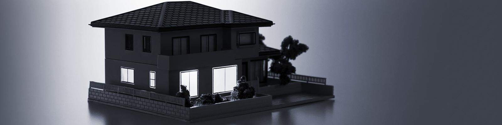スマートホーム 電気 セキュリティー イメージ