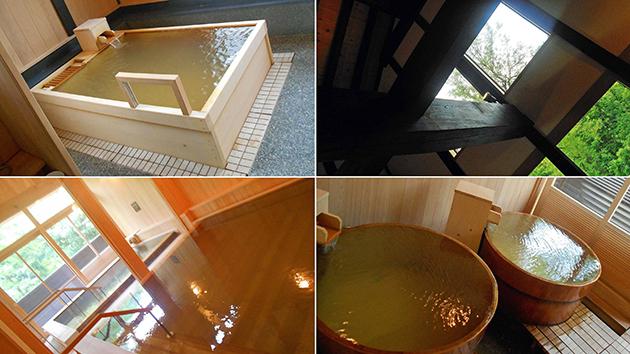KITキャンパス内の「はくさん比咩の湯温泉」