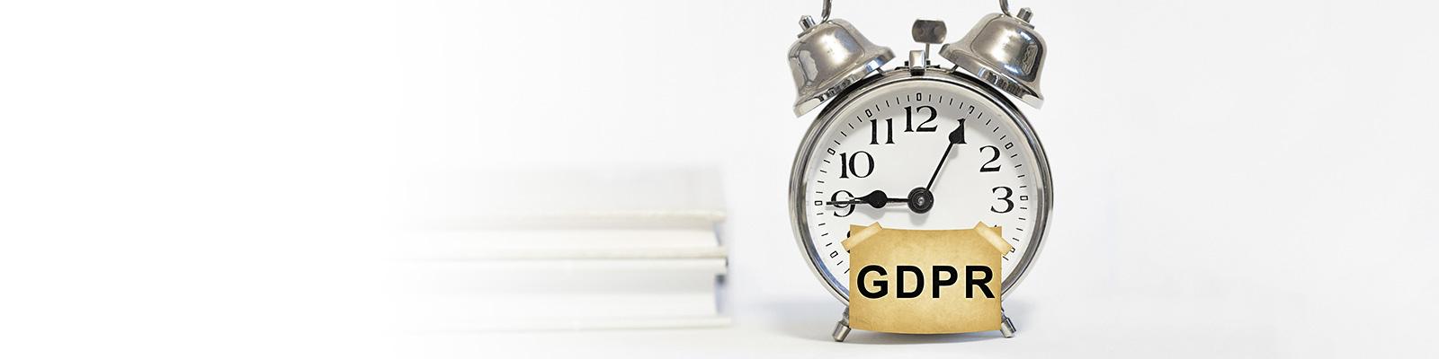 GDPR 時間 報告 イメージ