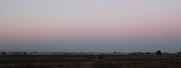 地球影(写真:岩槻秀明)