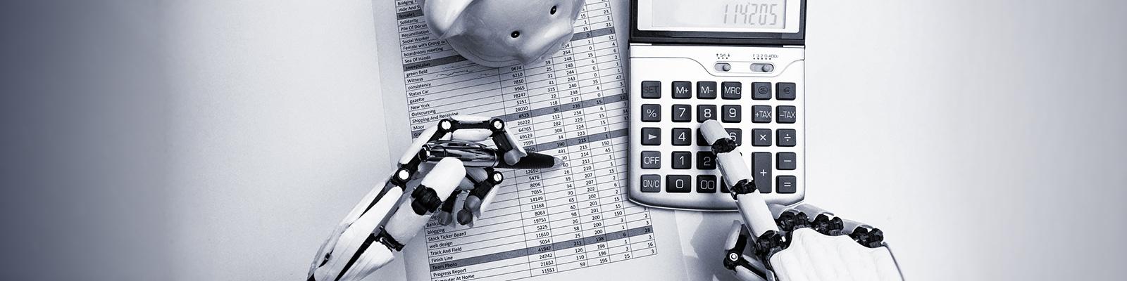 AI お金 計算 事務 イメージ