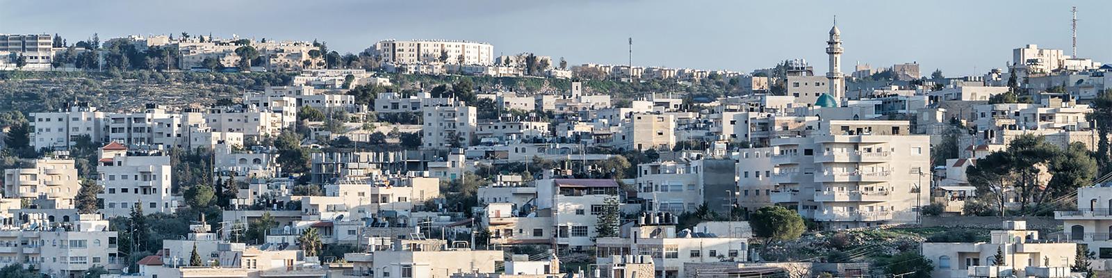 パレスチナ ヨルダン川西岸地区 景観 イメージ