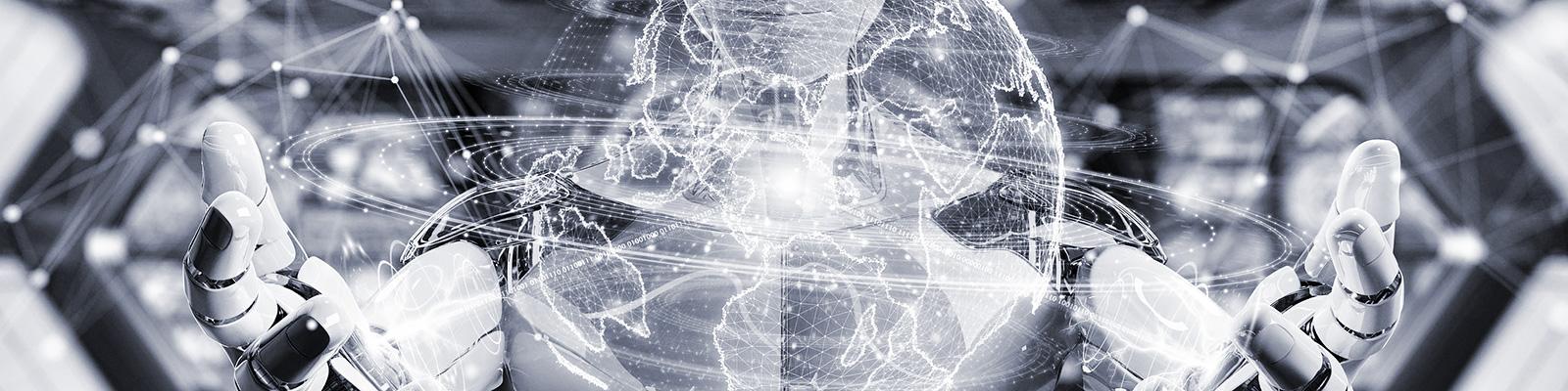 グローバル AI ネットワーク イメージ