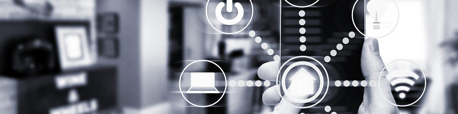IoT ホーム 端末 イメージ