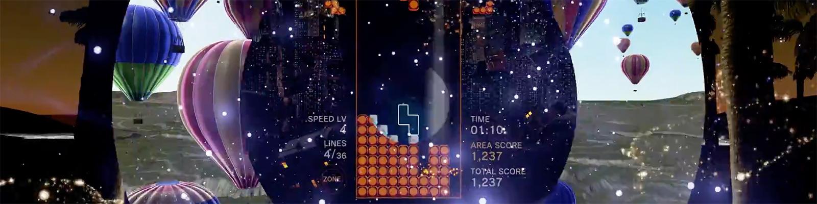 capture image: 『テトリス® エフェクト』 ローンチトレーラー(PlayStation Japan)