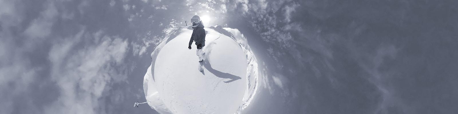 雪 VR イメージ