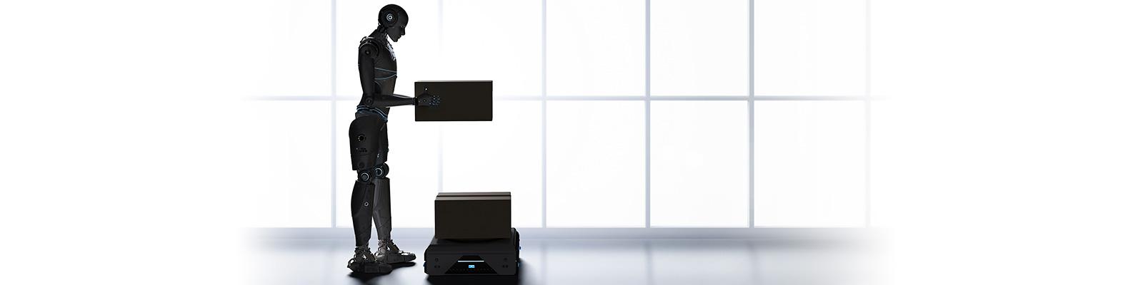 物流 AI ロボット イメージ
