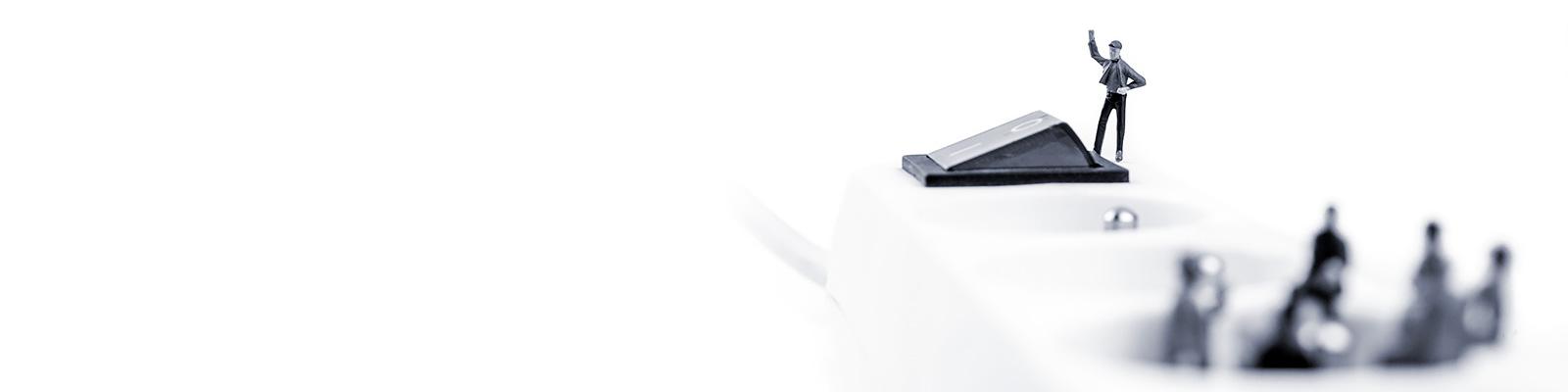 ボタン IoT イメージ