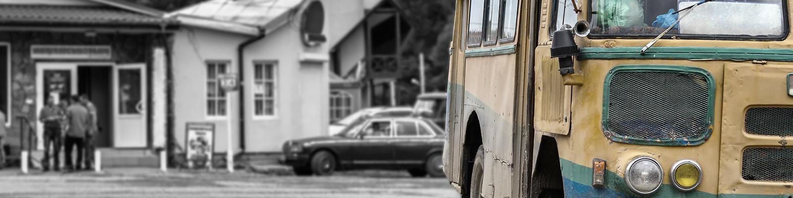地方 交通 バス 駅 イメージ