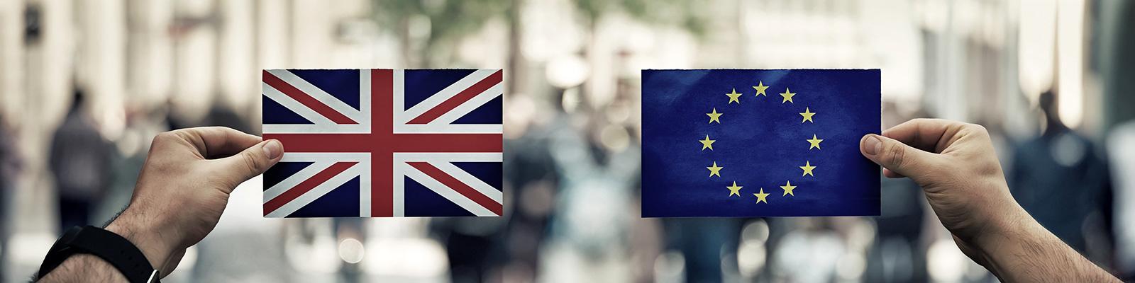 Brexit UK EU 対立 イメージ