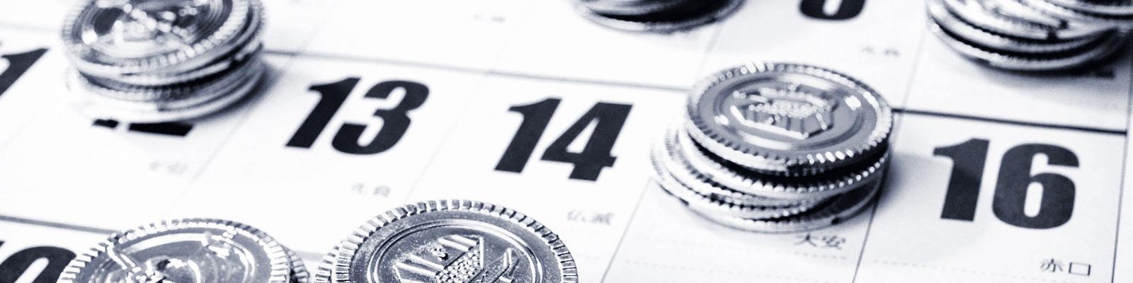 カレンダー 休日 賃金 イメージ