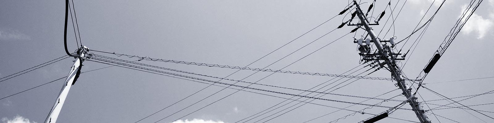 電柱 通信 イメージ