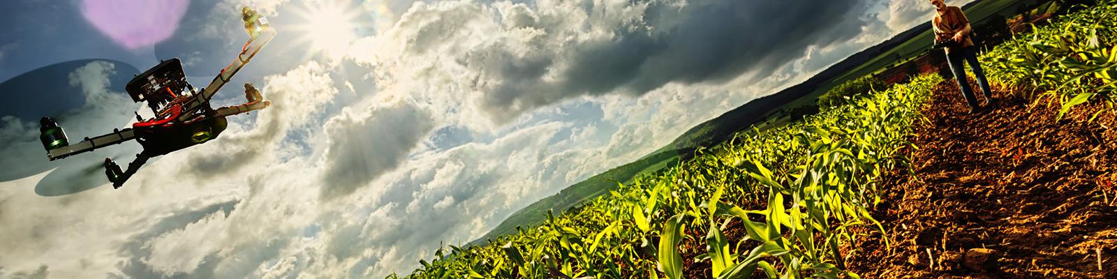 ドローン 農業 イメージ