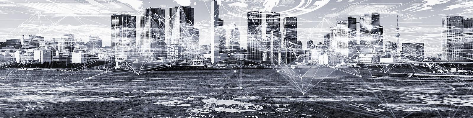 GPS 位置情報 都市 精密 イメージ