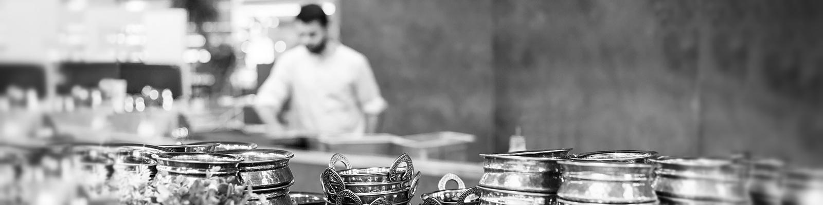 インド カレー 調理 イメージ