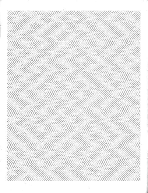 図2──松井茂さんの詩〈Camouflage〉の第1集の冒頭の視覚詩。