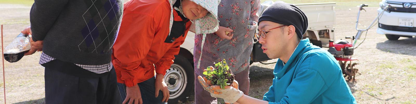 """長く健康的に農業に従事できる""""軽量野菜""""を導入。長崎俵ヶ浦半島「ハーブプロジェクト」は、高齢化する生産者の救世主となるか"""
