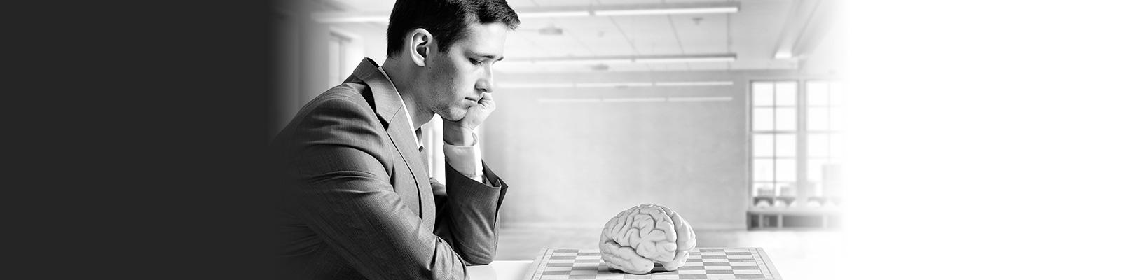 AI 脳 思考 イメージ