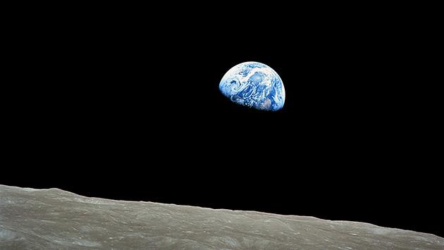 アポロ8号の地球の出