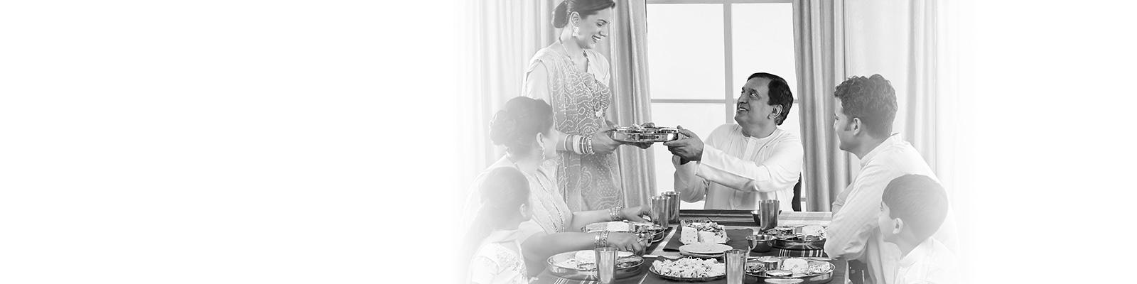 インド 家庭 料理 イメージ