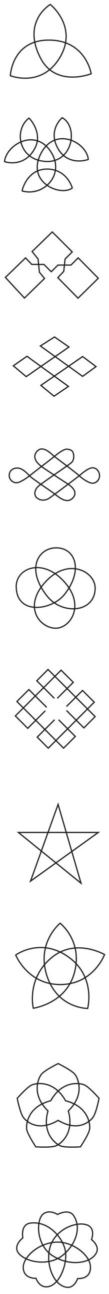 図12──結びイメージを持つ家紋。