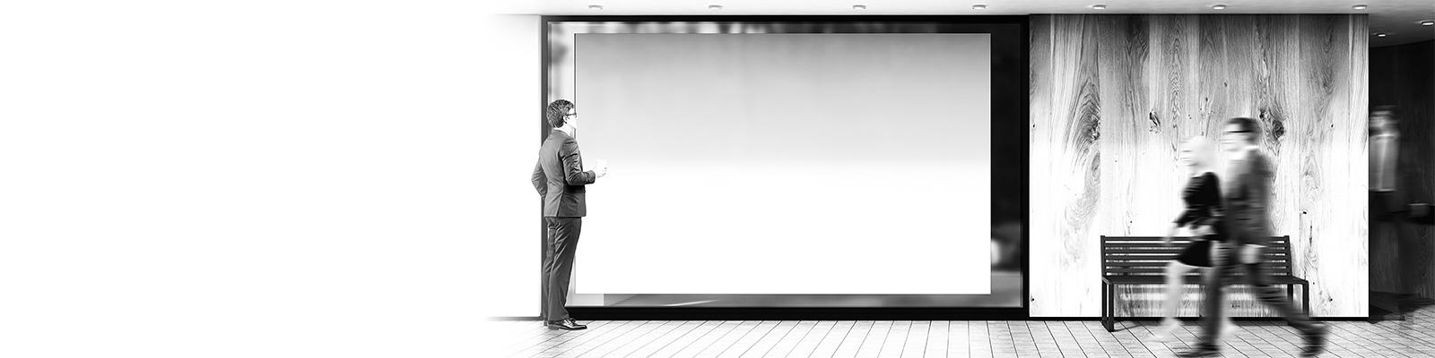 広告 看板 消費者 イメージ