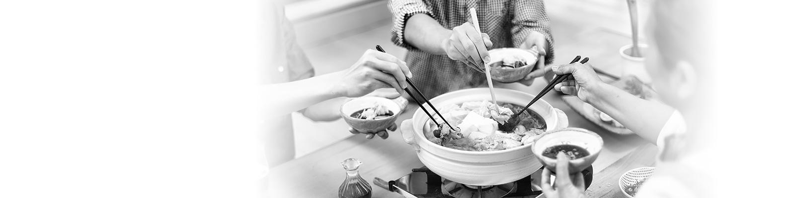 鍋 料理 家族 イメージ