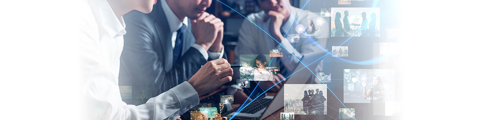 IT ネットワーク ディスカッション イメージ