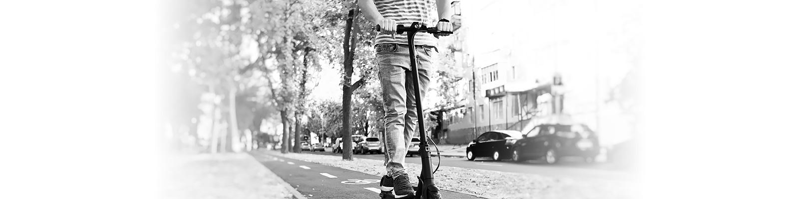 電動スクーター シェアリング イメージ