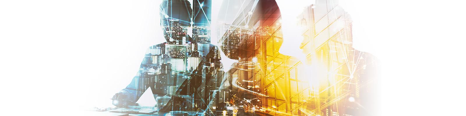 カンファレンス 都市 ネットワーク イメージ
