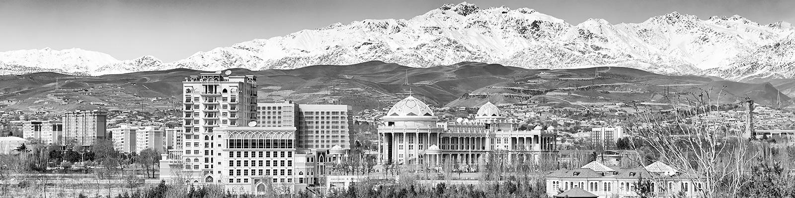 タジキスタン ドゥシャンベ 景観 イメージ