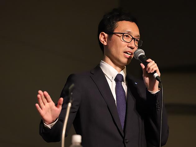 住友ゴム工業 経営企画部課長代理 西本 尚弘氏