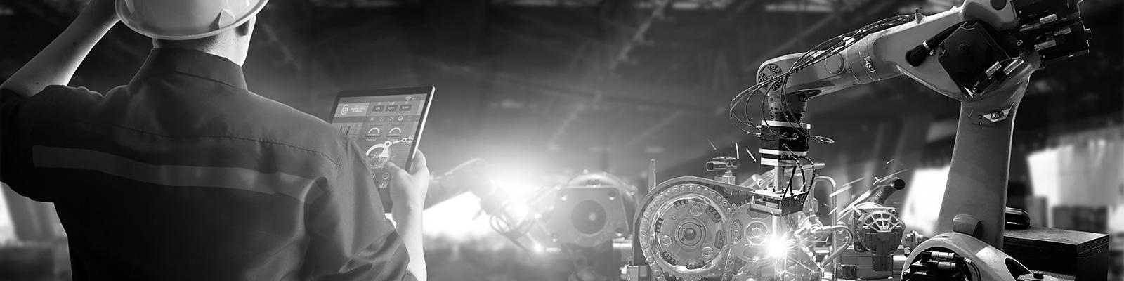 製造 工場 IoT イメージ