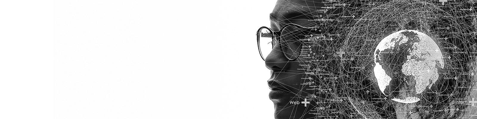 AI 人間 テクノロジー イメージ